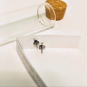 Kris Nations Jewelry - Kris Nations XO 14k gold stud earrings